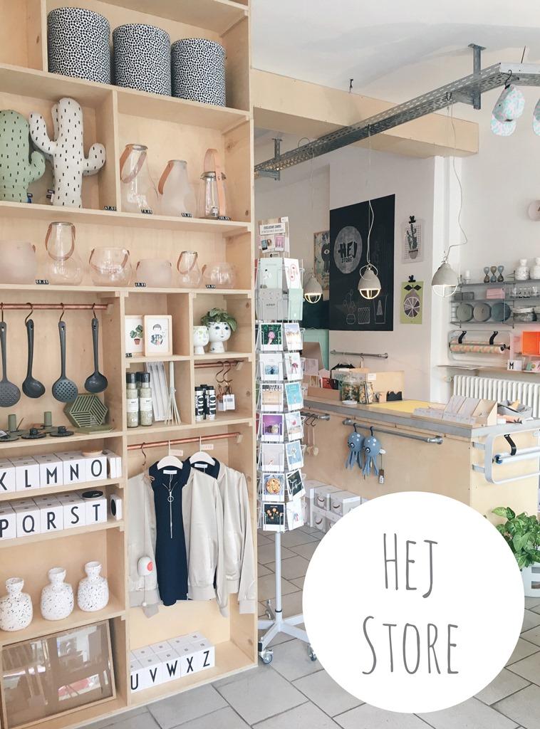 Wochenendtrip Ruhrgebiet, Cafés und Bars in Dortmund, Kreuzviertel, Hej Store Dortmund, Concept Store, skandinavischer Designladen Dortmund