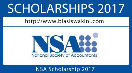 NSA Scholarship 2017