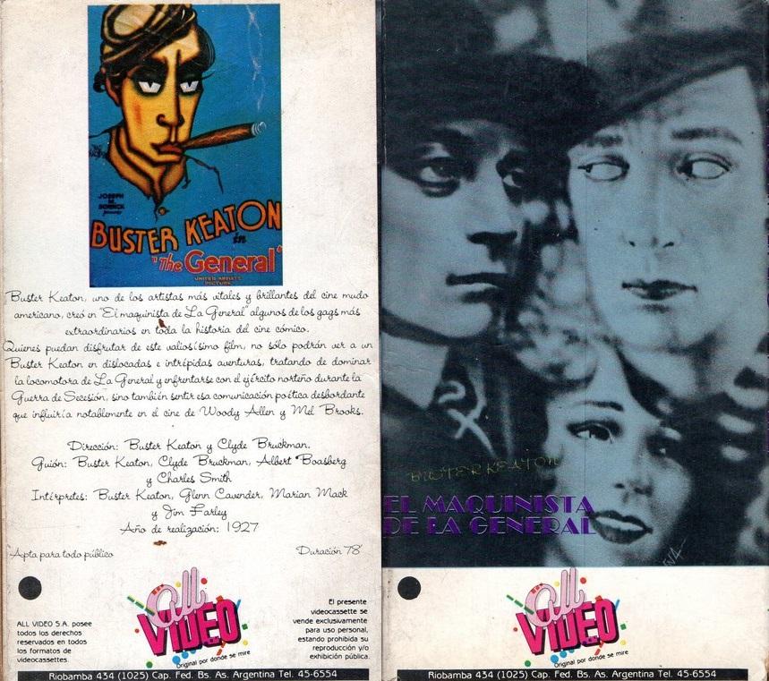 El Maquinista de La General (1926) Buster Keaton