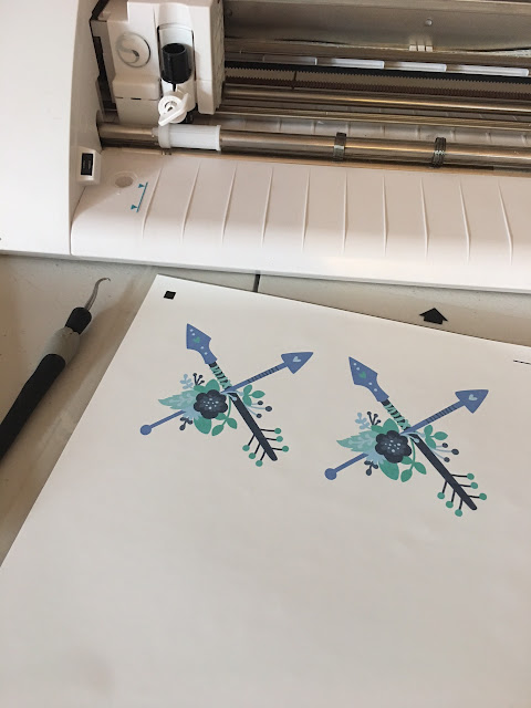 printable heat transfer sheets inkjet tutorial silhouette cameo
