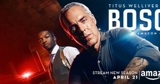 Stream The New Season Of #BoschAmazon #PrimeVideo & Unlock Limited Stickers