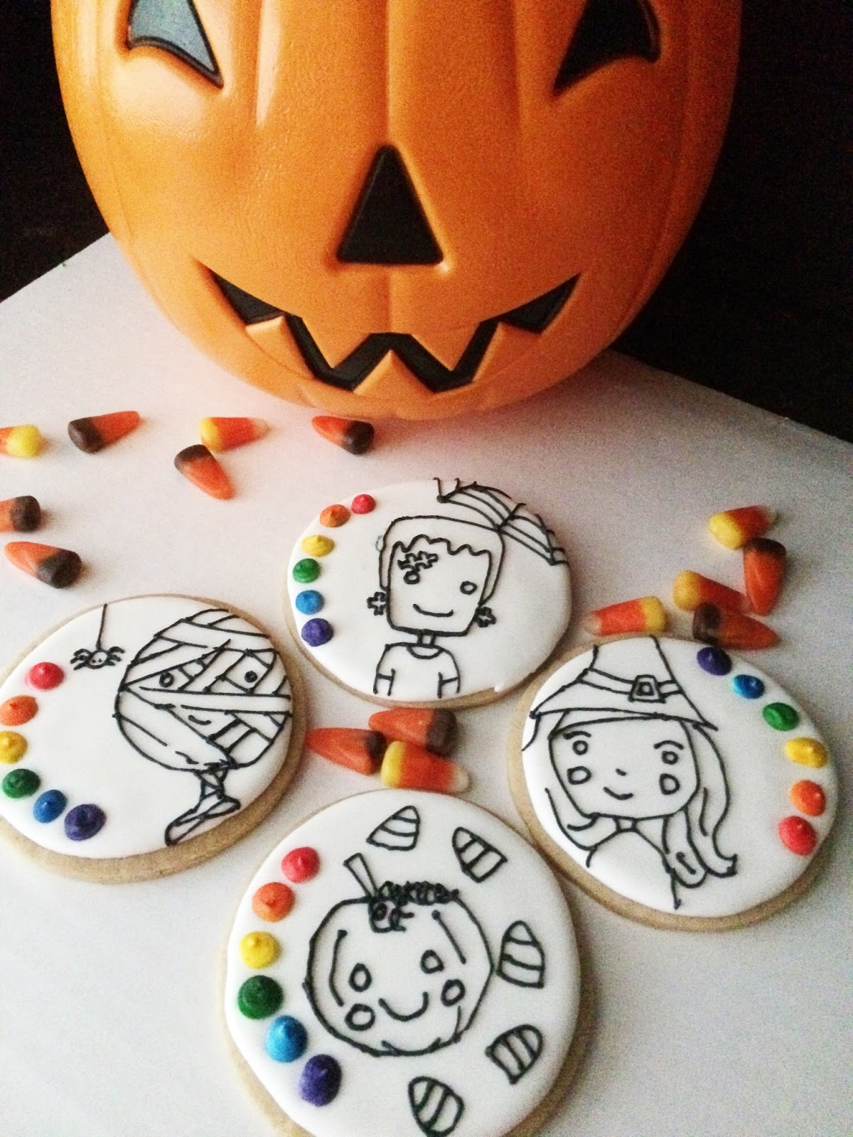 Paint - Your - Own Halloween Cookies | Sweet Jenny Belle ...