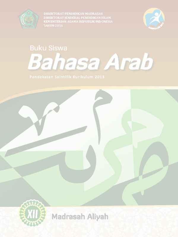 Download Buku Bahasa Arab BSE Kurikulum 2013 untuk Kelas ...