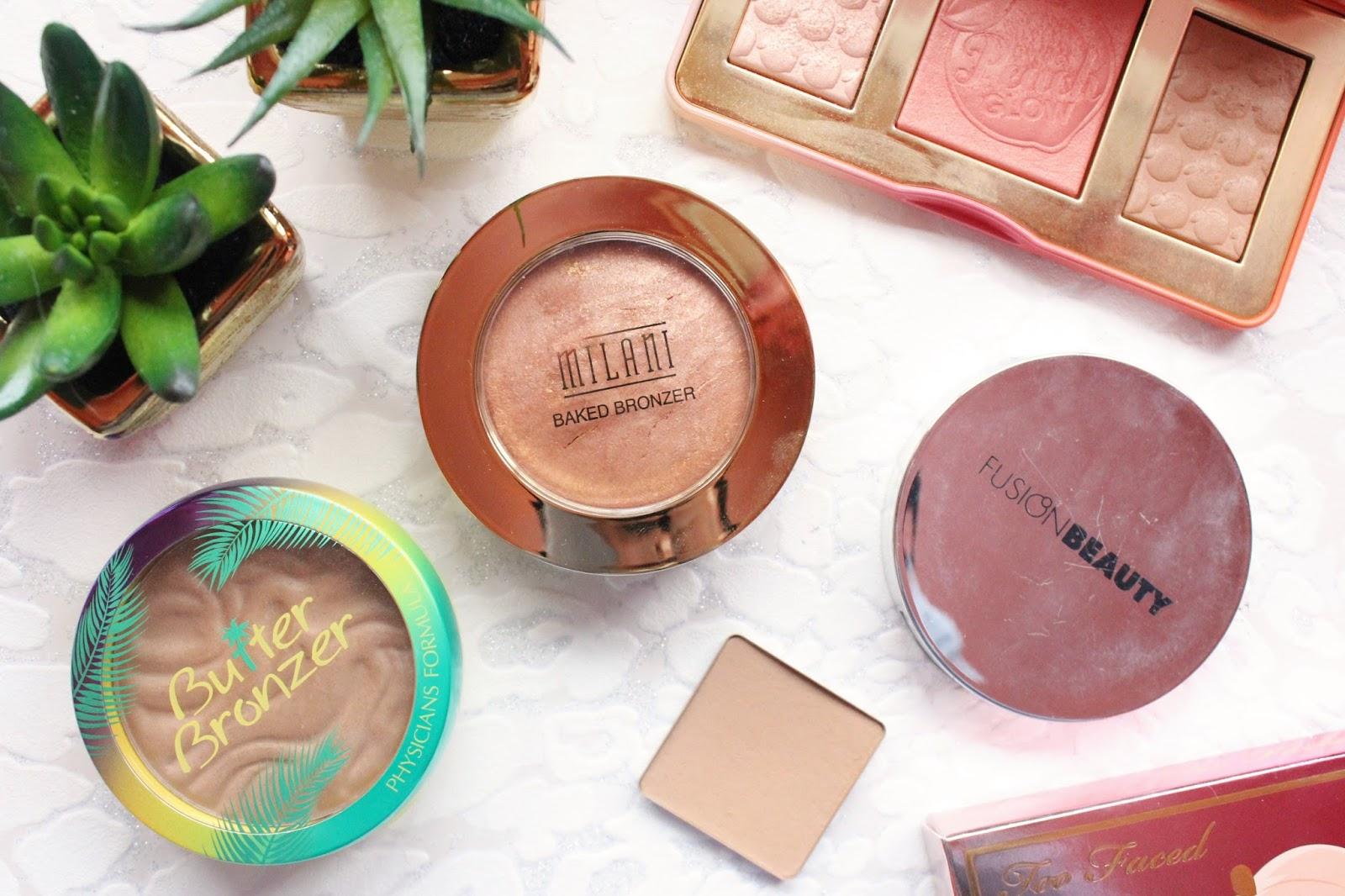 Bronzers for Lighter Skin Tones