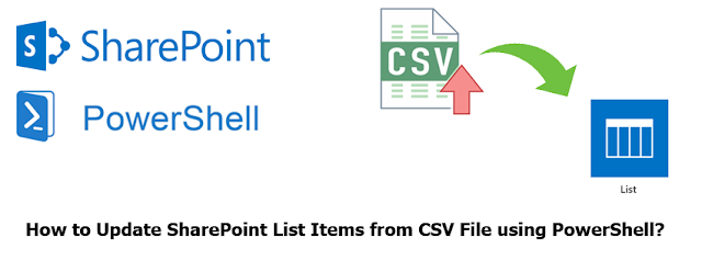 Update SharePoint List Items from CSV File using PowerShell