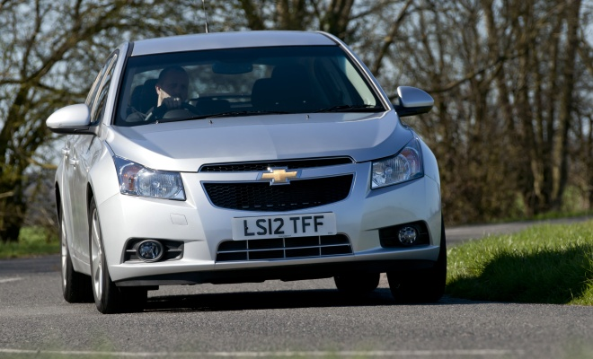 Chevrolet Cruze front view