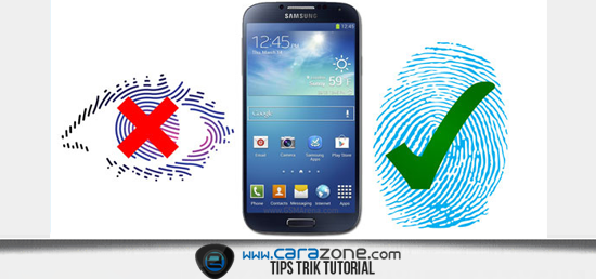 Cara Kerja fingerprint scanner Galaxy S5
