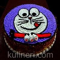 Resep Kue Ulang Tahun Doraemon