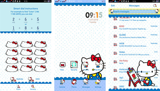 Oppo Theme: Oppo Hello Kitty Classic Theme