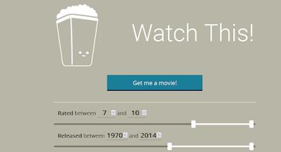 موقع يقترح عليك افلام لمشاهدتها بمختلف انواعها