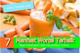 manfaat wortel bagi kesehatan dan kecantikan