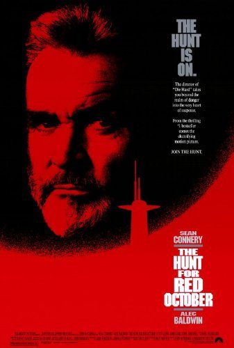 Poster Of The Hunt For Red October 1990 720p BluRay Dual Audio