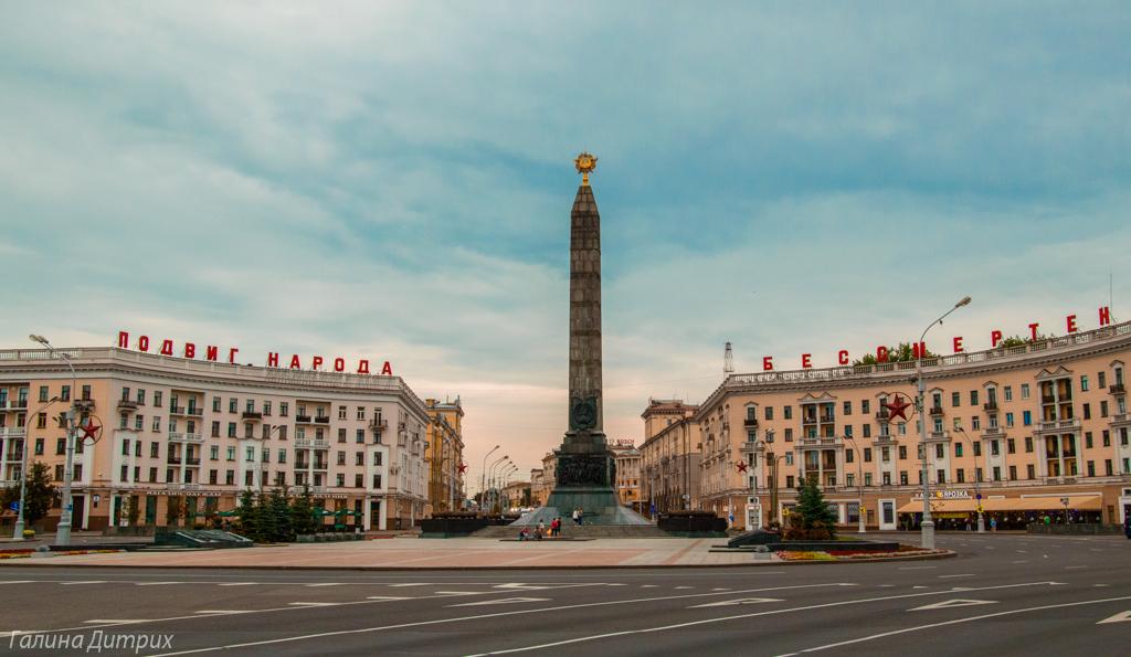 Площадь Победы Минск фото