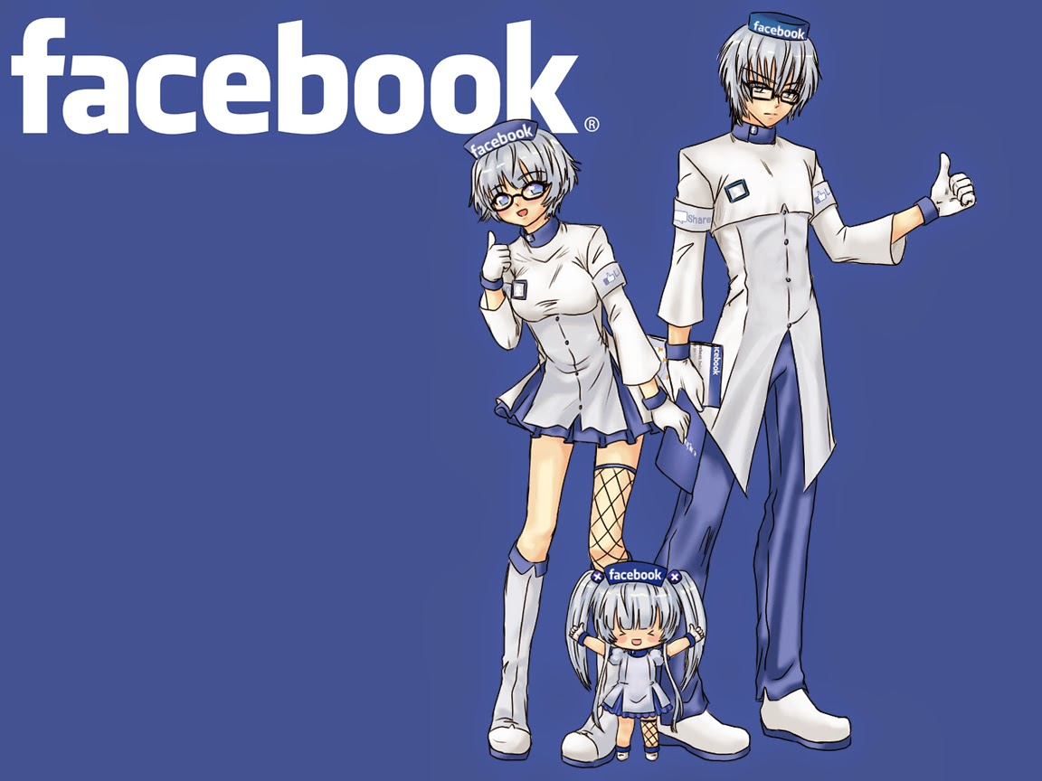 Facebook Tan, facebook, fantasy fan leogan, anime