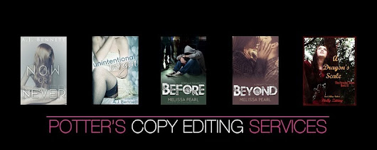 EDITED BOOKS BY POTTER'S COPY EDITING SERVICES!