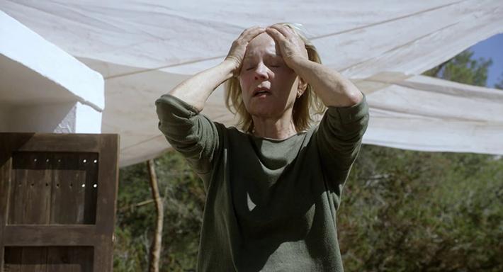 Marthe Keller em Amnésia, filme de Barbet Schroeder