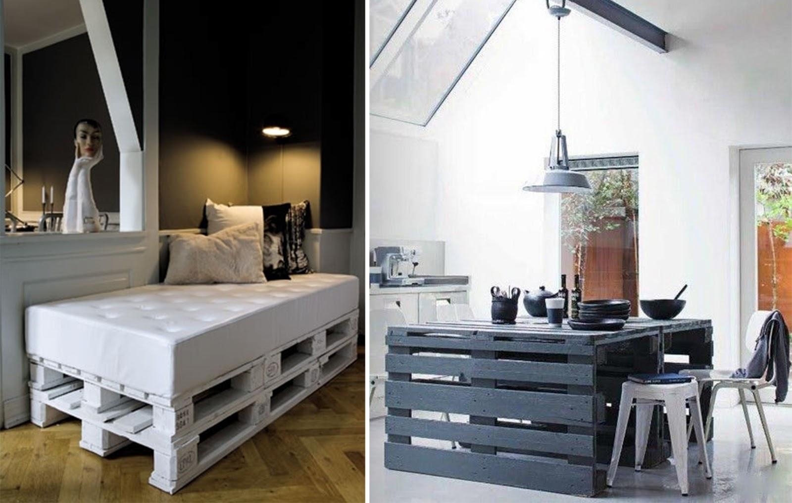 Estremamente Pallet come arredo di Design meglio se Riciclati! | ARC ART blog  UN44