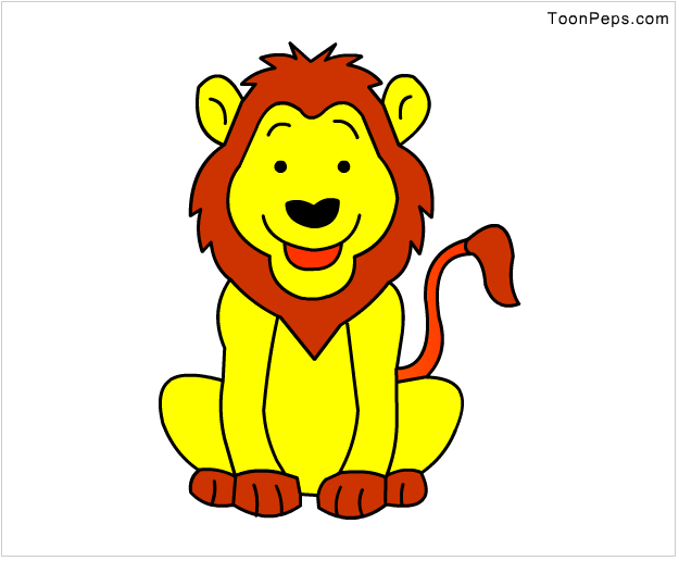 Image Gallery lion drawings for kids