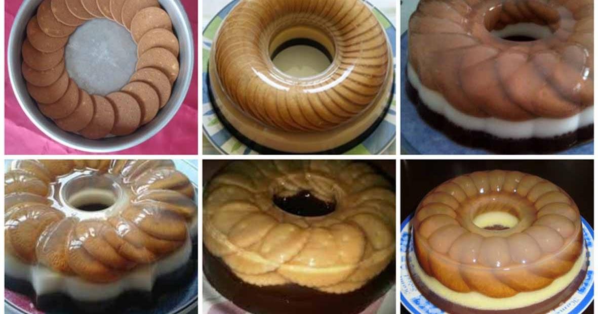 Resep Puding Biskuit Marie Regal Enak & Praktis