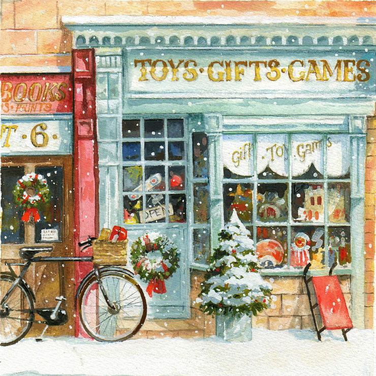 Магазин старинные открытки, добрым