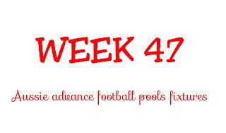 WEEK 47: AUSSIE FOOTBALL POOLS FIXTURES | 02-06-2018 | www.ukfootballplus.com.ng