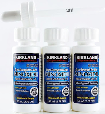 New Kirkland Minoxidil 5% Extra Strength Hair Regrowth for Men