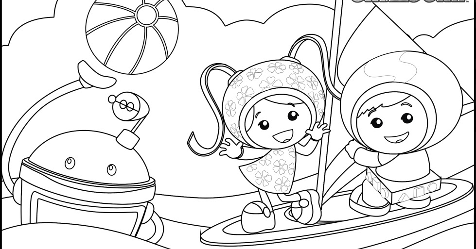 Team Umizoomi Coloring Pages | Team colors