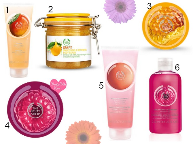 Body shop wish list