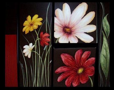 Cuadros pinturas oleos cuadros bonitos - Pintar un cuadro moderno ...