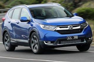 Giới thiệu Honda CRV 7 chỗ