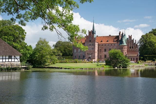 Castelo Egeskov, Fyn, Dinamarca