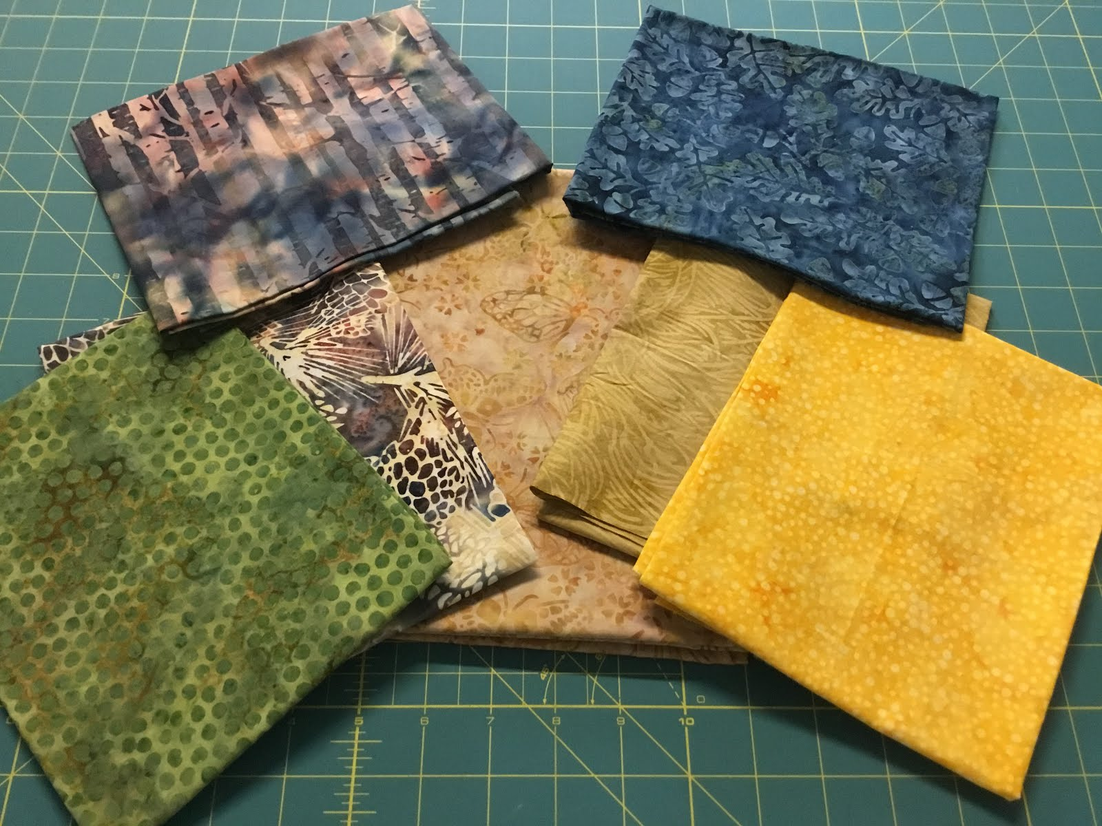 Quilting Affection Designs Island Batik Challenge