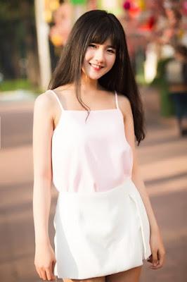 Hot Girl Nguyễn Hoàng Kiều Trinh với vẻ đẹp thiên thần