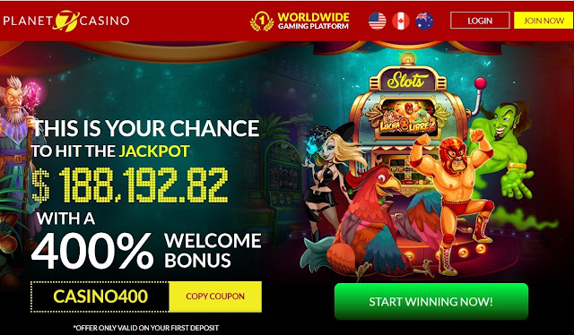 Planet7 casino welcome bonus