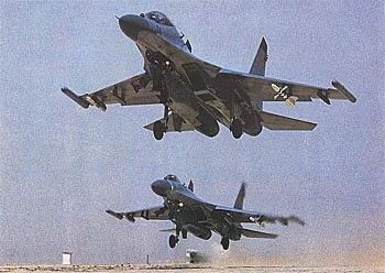 Resultado de imagen de fuerzas aerea rusa 1995