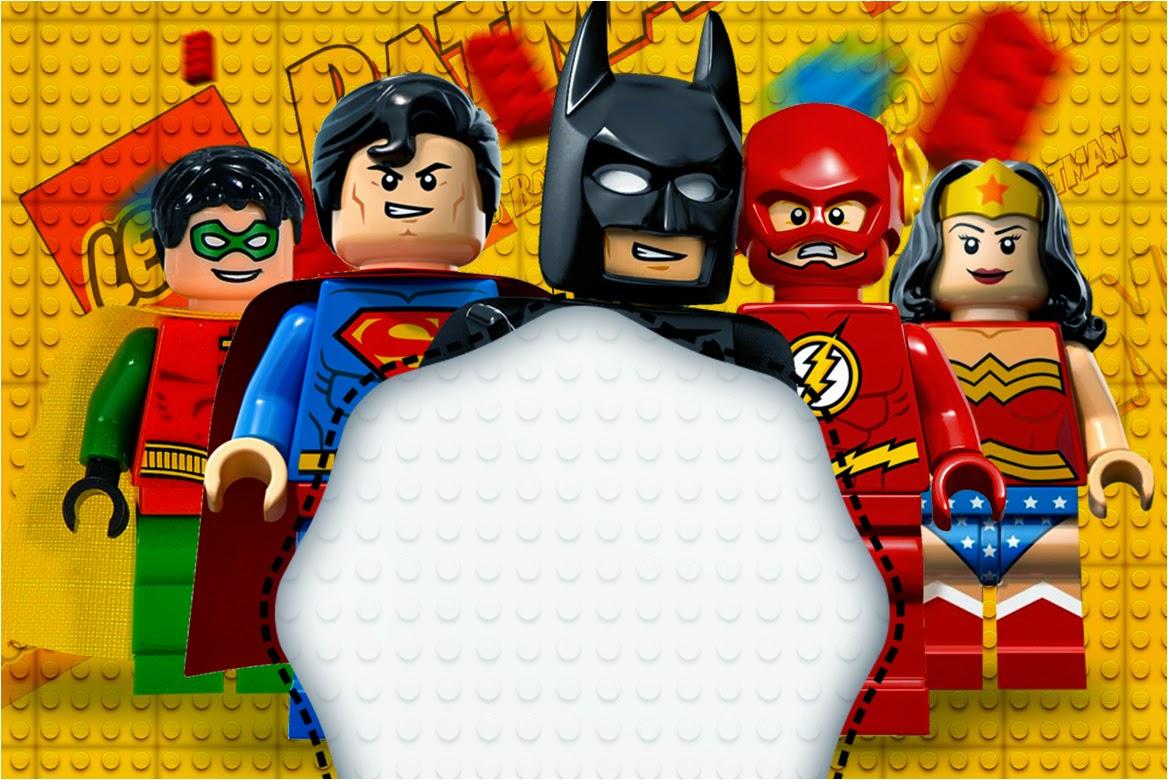 Lego Película: Invitaciones para Imprimir Gratis. | Ideas
