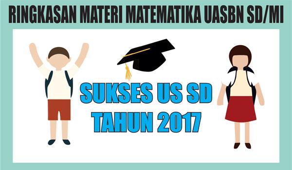 Ringkasan Materi Matematika US/UN SD dan MI Lengkap