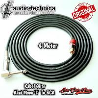 Kabel Gitar 4 Meter Jack Akai Mono L To RCA