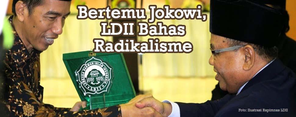 Ketemu Jokowi, LDII Bahas Radikalisme