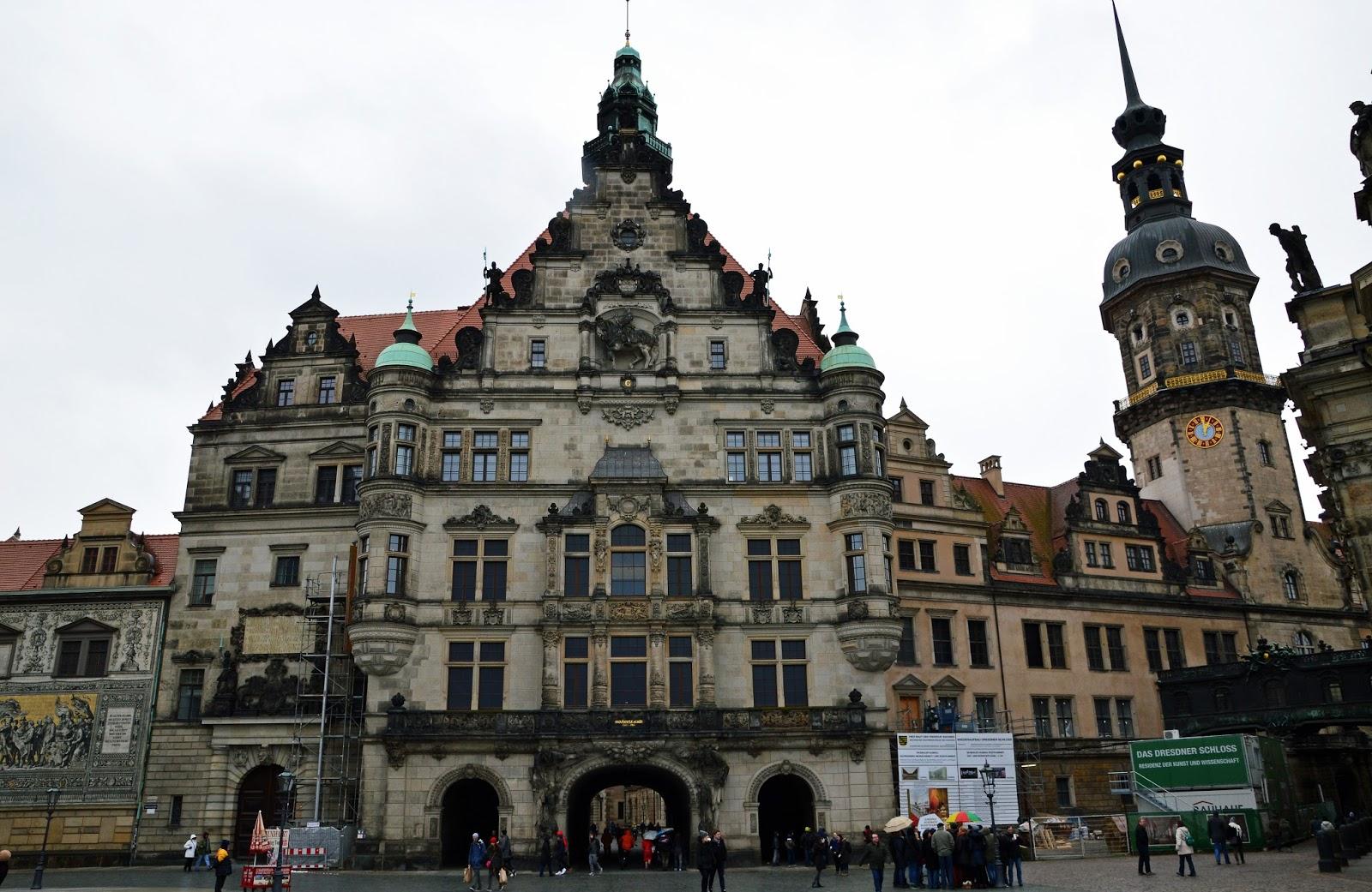 Drezno Zamek Schloss