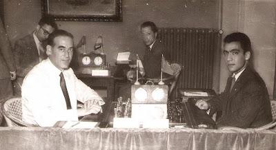 Partida de ajedrez Esteban Pedrol - Daniel de Oliveira en 1951