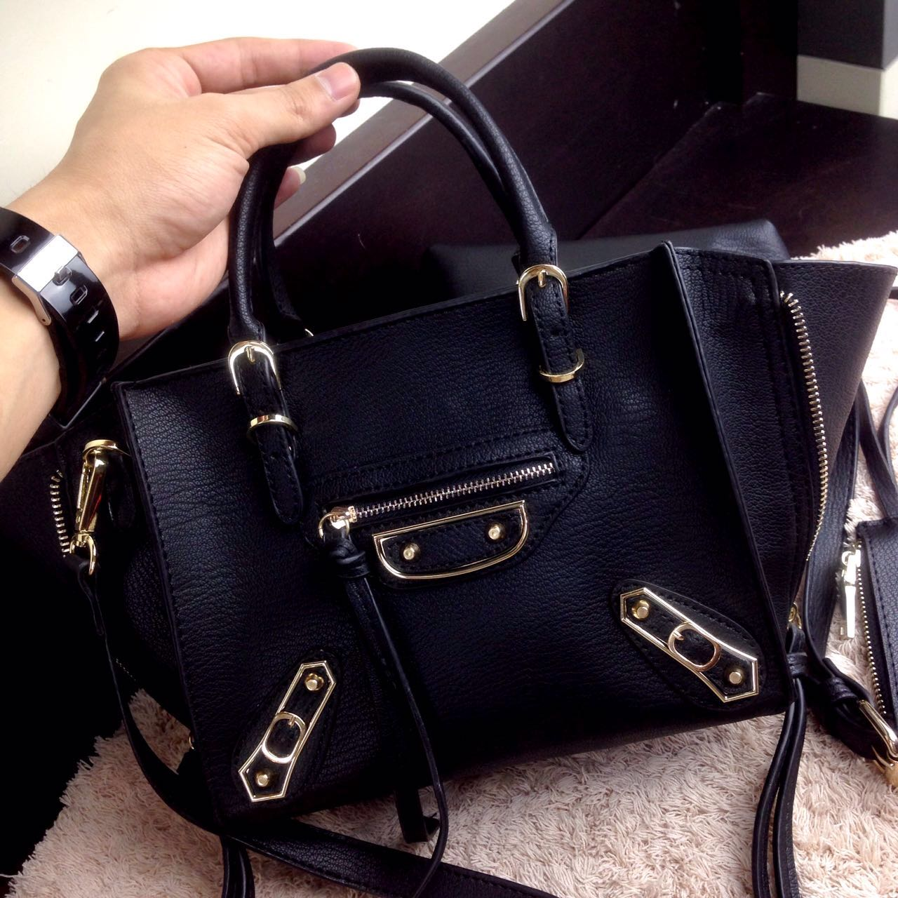 Balenciaga Classic Metallic Edge Mini City Ghw More Detail About Bag Can Account For This Situation