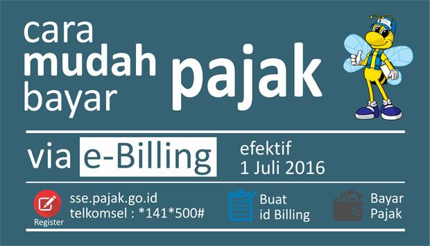 SSE Pajak ~ Surat Setoran Elektronik e Billing Pajak Online