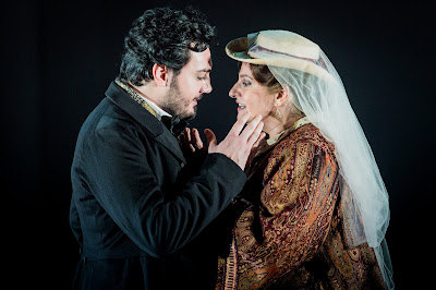 Verdi: Un ballo in maschera - Vincenzo Costanzo, Claire Rutter - Grange Park Opera (Photo Robert Workman)