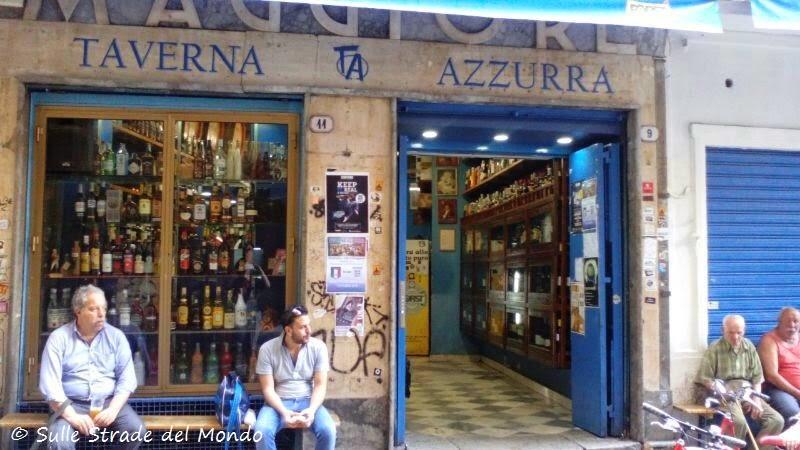 La Taverna Azzurra Vucciria Palermo