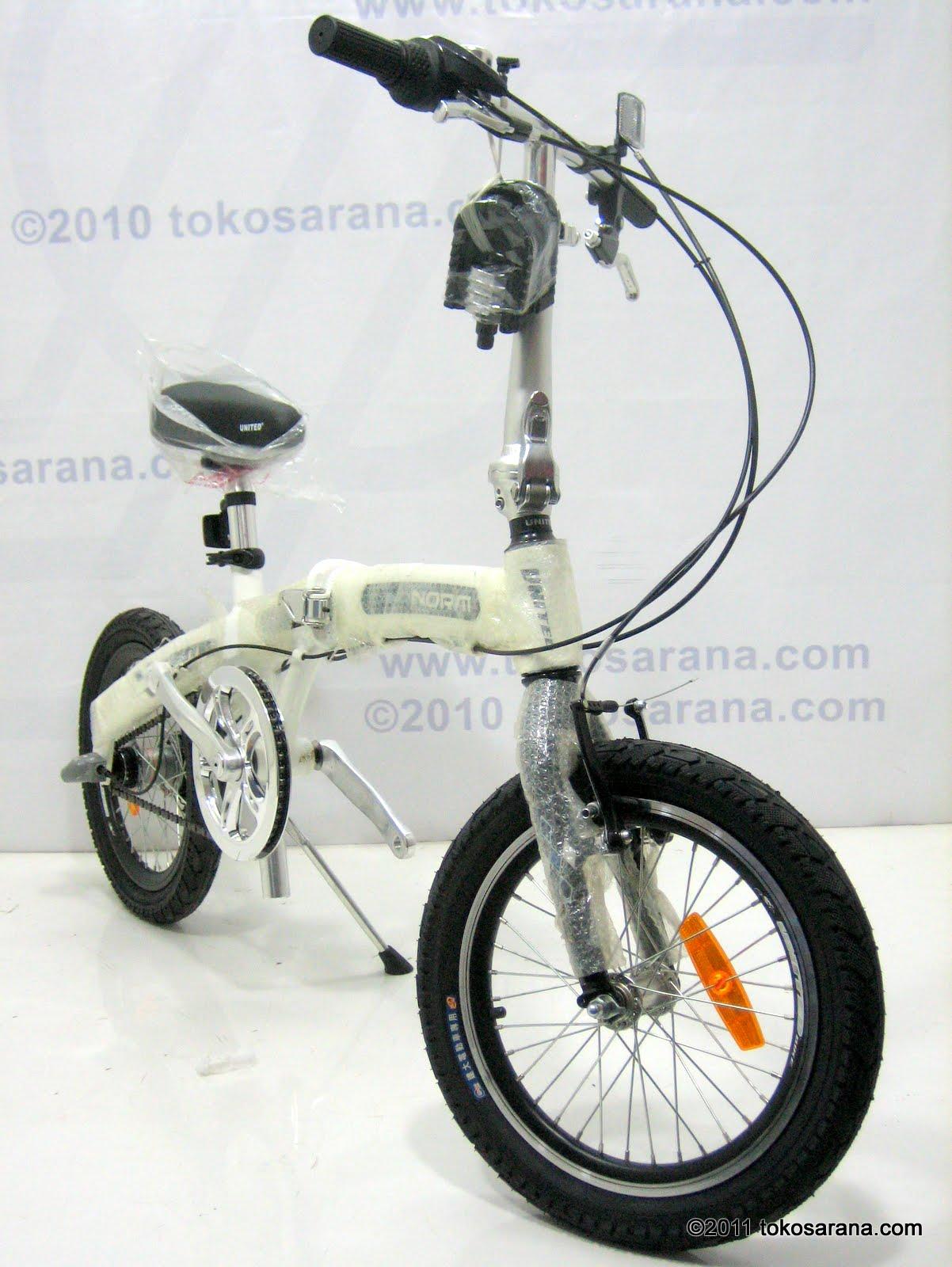 GOES BIKE: Sepeda Lipat UNITED NORM 3 Speed Shimano Inter