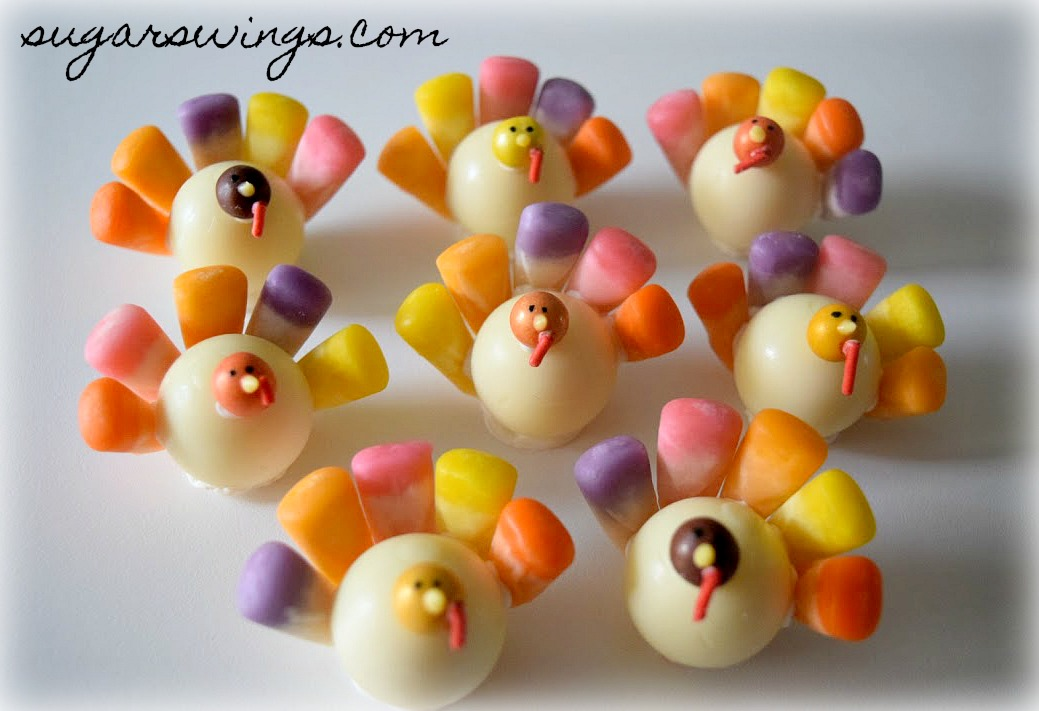 Sugar swings serve some pastel candy thanksgiving turkeys in donuts but sciox Gallery