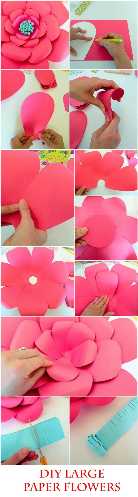 How to make paper flowers how to make paper flowers 10 mightylinksfo