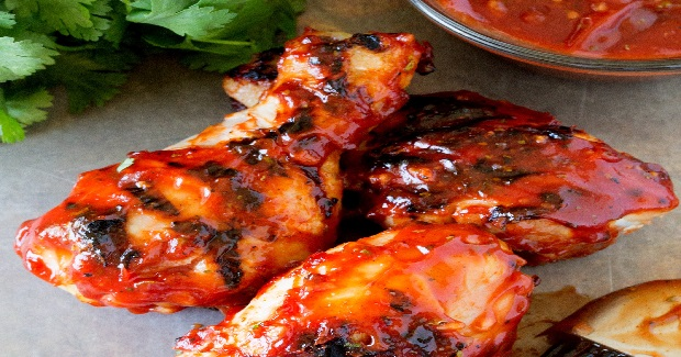 Hickory Smoked BBQ Chicken Drumsticks Recipe