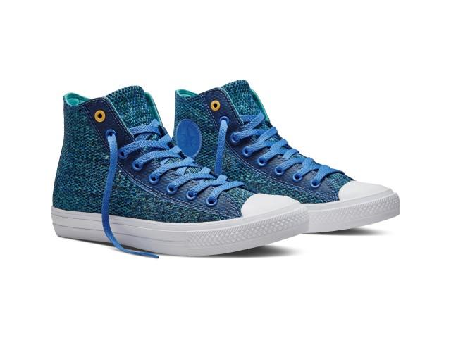 c372c1cec61 Após o sucesso do lançamento do revolucionário sneakers Chuck II a Converse  Inc. dá continuidade a jornada desta linha e apresenta o Chuck Taylor All  Star ...